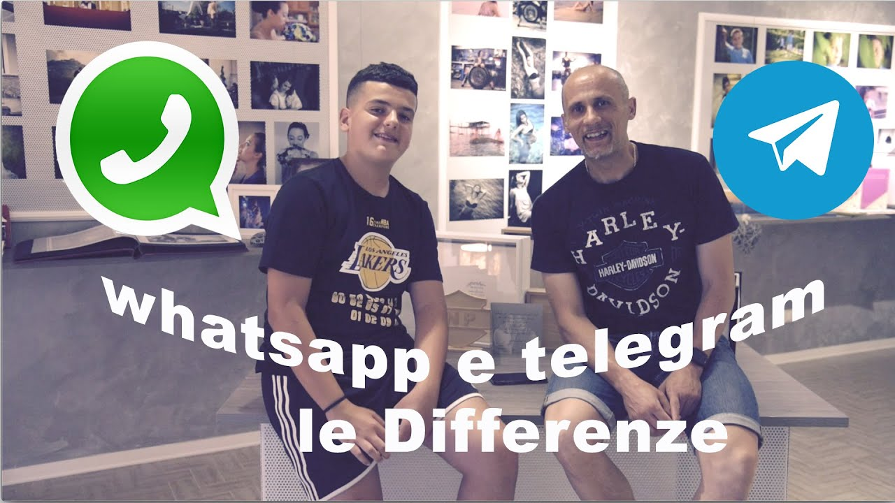 whatsapp o telegram quali differenze